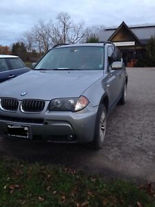 2006 BMW X3 with winter tires