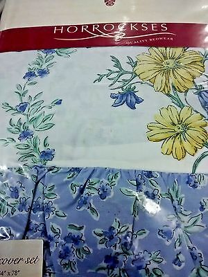 """Single bed """"Horrockses"""" Frilled Quilt Cover"""