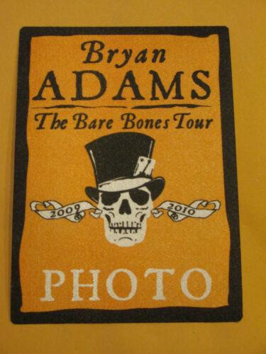 BRYAN ADAMS - THE BARE BONES TOUR - PHOTO - BACKSTAGE PASS