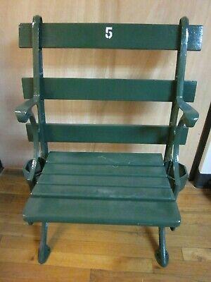 Crosley Field Stadium Seat Bracket Cincinnati Reds Memorabilia Seat Part left