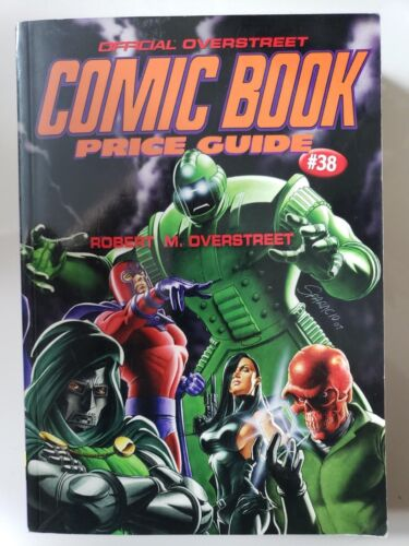 THE OVERSTREET COMIC BOOK PRICE GUIDE 2008 38th EDITION PAPERBACK NEW UNREAD