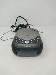 Emerson Stereo CD Compact Disc Player  Radio Digital Alarm Clock CKD9901 WORKING