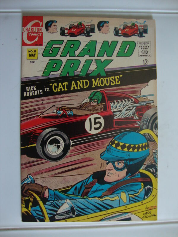 Grand Prix #19 VG Cat And Mouse