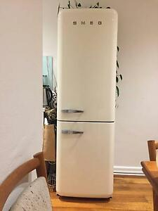 Smeg European Fridge Cream Colour Elwood Port Phillip Preview