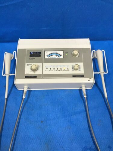 Richmar Model 25 Ultrasound Therapy w/ Operational Manual