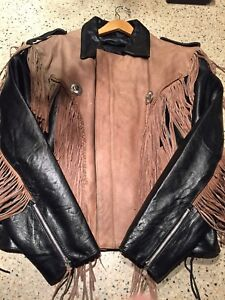 "Men's ""Leather King"" Fringed, Leather Jacket"