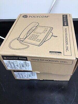 Lot Of 2 Polycom Cx 500