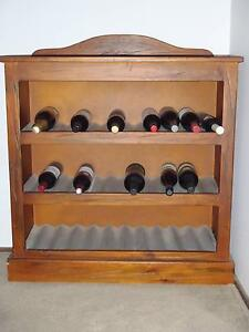 URGENT SALE!!  Solid Timber Wine Rack Ferntree Gully Knox Area Preview
