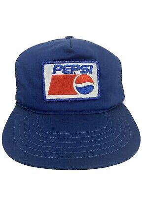 RWB Pepsi Cola Soda Pop Trucker Hat Vintage 80's Style Mesh Back Snapback Cap