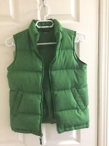 Boys fall vest Lands End size 8 small
