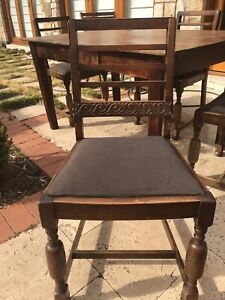 4 Chairs for sale. Free Table