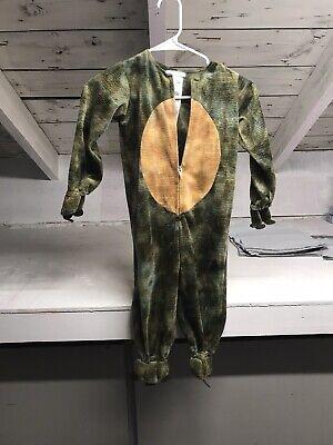 Pottery Barn Kids Unisex 3T Green T-Rex Halloween Costume