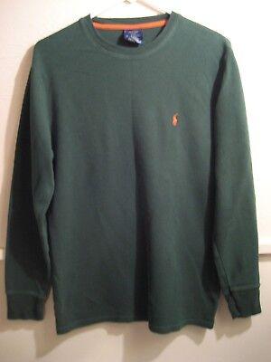 POLO RALPH LAUREN sleepwear, longsleeve shirt 100% cotton size medium