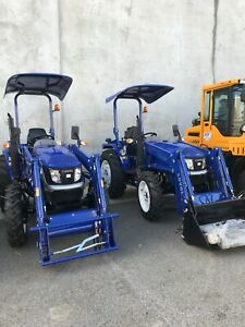 Brand new 40HP WCM LOVOL tractor, with front end loader Maddington Gosnells Area Preview