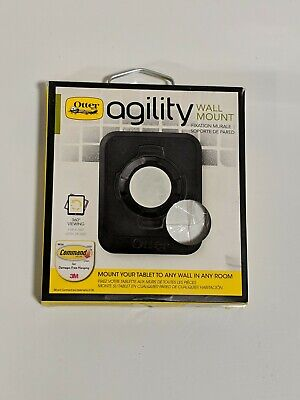 OtterBox Agility Wall Mount, White, Tablet Magnetic Wall Mount