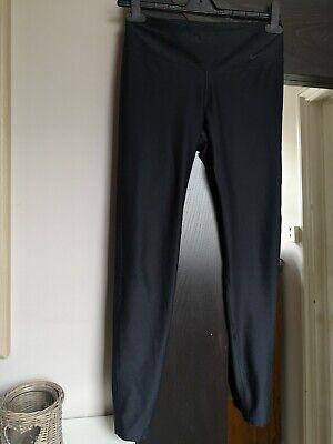 Nike Workout Gym Yoga Running Leggings Black. Size Small. UK 10-12
