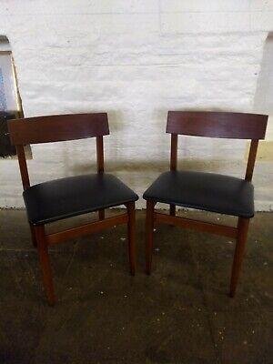SALE SALE chairs mid century Danish Teak pair SALE SALE