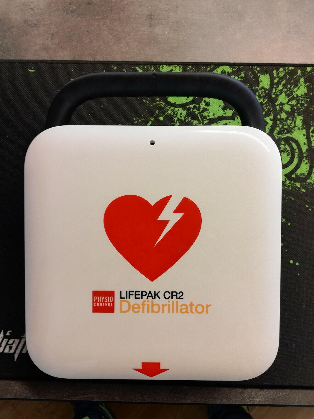 Defibrillator Physio Control CR2 - nicht neu aber unbenutzt