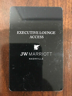 JW Marriot NASHVILLE TN Hotel Executive lounge Room Key Keycard