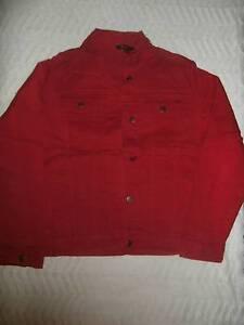 Red Denim Jacket Tuart Hill Stirling Area Preview