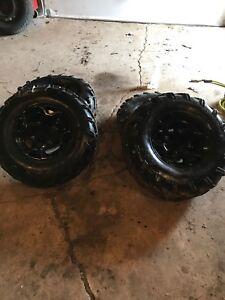 Atv rims and tires