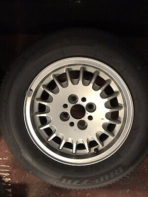 """5x Genuine BMW 14"""" Bottle Top Alloy Wheels With Tyres"""
