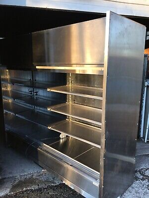 Refrigerated Merchandiser 8 Wide Grab N Go Cooler Doorless 115v Perfecr