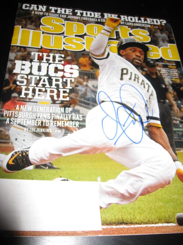 ANDREW MCCUTCHEN SIGNED AUTOGRAPH SPORTS ILLUSTRATED PITTSBURGH PIRATES COA NY D