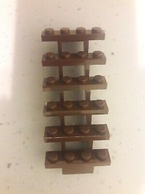 Missing Lego Part 30134 - Stairs 7 x 4 x 6 Straight Open in Brown