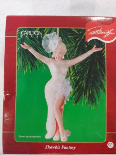 Carlton Cards Heirloom Collection Ornament Showbiz Fantasy (Marilyn Monroe) MIB