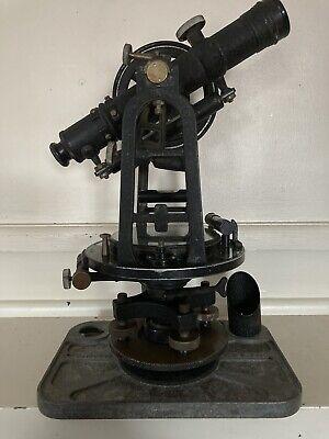 Antique Vintage Keuffel Esser Ke Doric Surveying Transit Model H4716 W Case