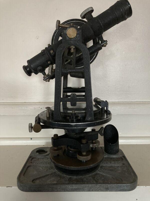 Antique Vintage Keuffel & Esser K&E Doric Surveying Transit Model #H4716 w/ Case