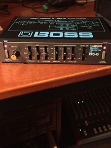 Studio effect units boss and ibanez