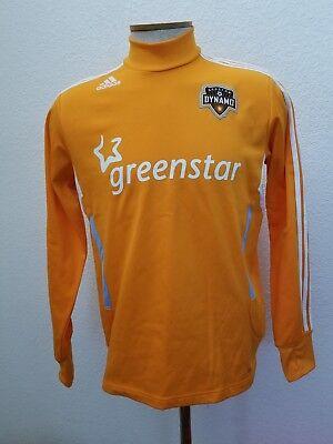 2011 Houston Dynamo Soccer Jersey Adidas Greenstar MLS Size XL Long Sleeve image