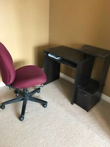 Chair and desk