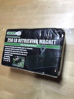 Grip Retrieving Magnet - 250-lb. Capacity Model 53427 New