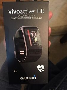 Like new Garmin vivoactive HR GPS smartwatch