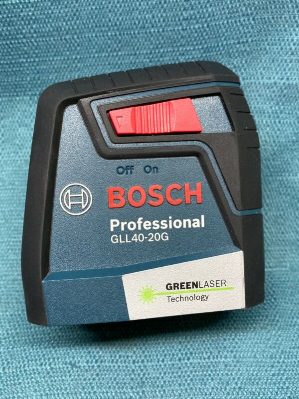 BOSCH GLL40-20G Self Leveling Cross Line Laser GREEN LASER TECHNOLOGY