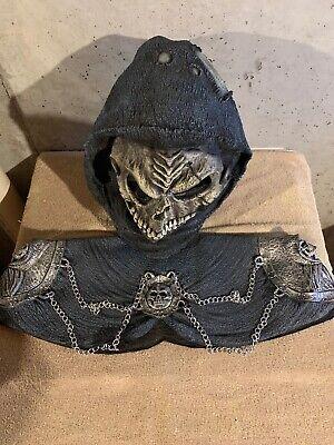 2000 Mask illusions Grim Reaper With Shoulder Armor Halloween Large (Halloween Illusion Kostüm)