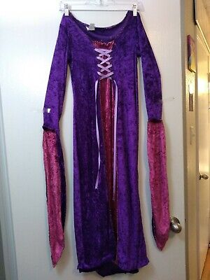Renaissance Princess Halloween Costume (Pink Purple Princess Medieval Renaissance Halloween Costume Women's)