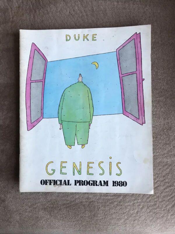 "Genesis'1980 ""Duke"" Program"