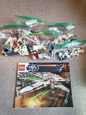 Lego 9493 Star Wars X-wing Starfighter - 100% Complete including Manual