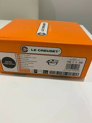 Le Creuset Cast Iron Oval Casserole Dish 0.9 l Black Onyx -