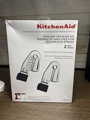 KitchenAid KSMAPC1AP Thin Blade Set for Spiralizer Attachment NEW IN BOX