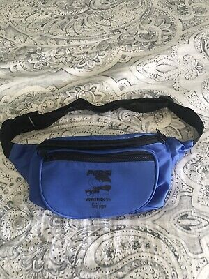 BRAND NEW VINTAGE RARE 1994 Woodstock Festival Pepsi Logo Fanny Pack With Items