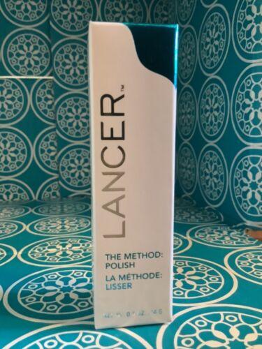 Lancer The Method: Polish Face Polisher .5 oz USA New Sealed
