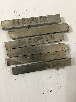 516 Square X 2-12high Speed Steel Tool Bits Lathe Bits Tool Bit Ground 6 Ea