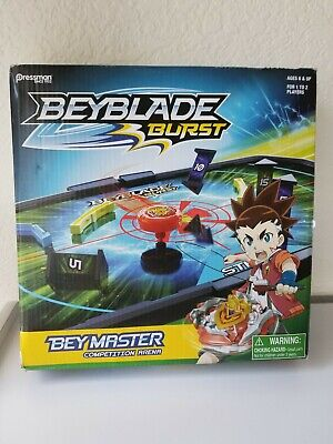 Beyblade Burst Bey Master Competition Arena Game for 1 or 2 players, 6 & Up