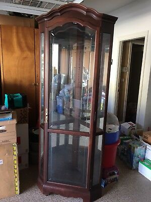 Howard Miller mirrored corner display cabinet furniture (Howard Miller Furniture)