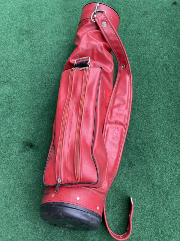 Vintage Vagabond Golf Bag red